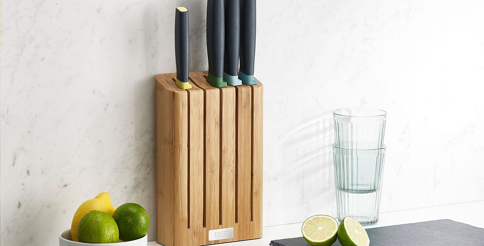 Conjunto de facas Elevate ™ com bloco de bambu