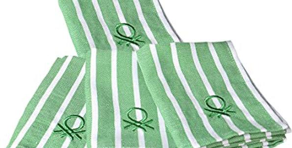 Conjunto de 4 toalhas de chá United Colors of Benetton