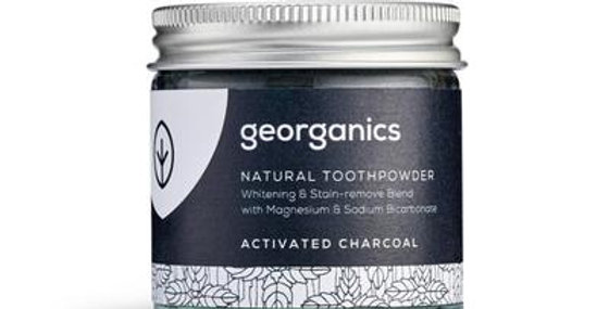 Pó Dentário Natural Georganics – Carvão Ativado