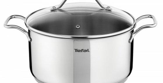 TEFAL - TACHO INTUITION 24 CM + TAMPA VIDRO