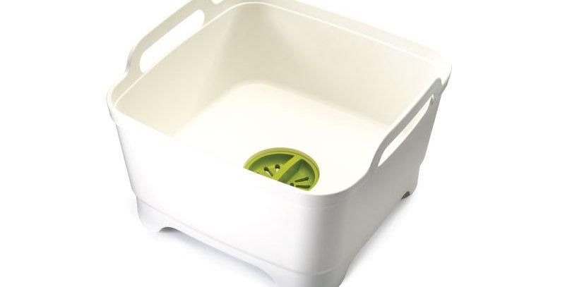 Recipiente Para Lavar Loiça - Wash&Drain Branco - Joseph Joseph