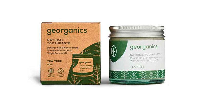 Pasta de Dentes Natural Georganics – Árvore do Chá 60ml