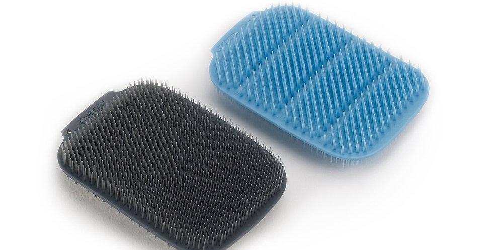 Conj. de 2 Escovas Azul - CleanTech - Joseph Joseph