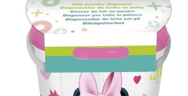 Dispensador de Leite/Cereais - Minnie Mouse