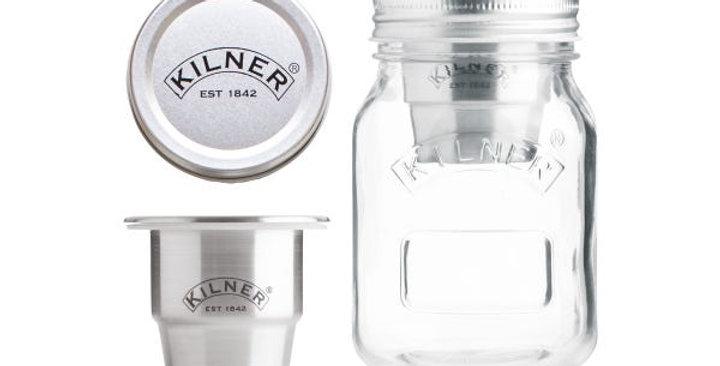 Frasco de lanche para viagem de 0,5 litro Kilner