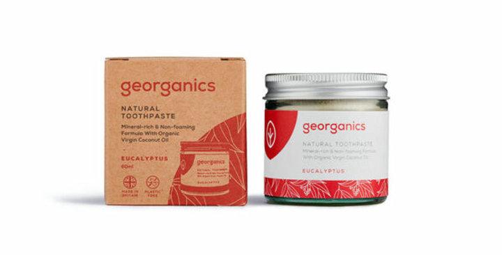 Pasta de Dentes Natural Georganics – Eucalipto 120ml