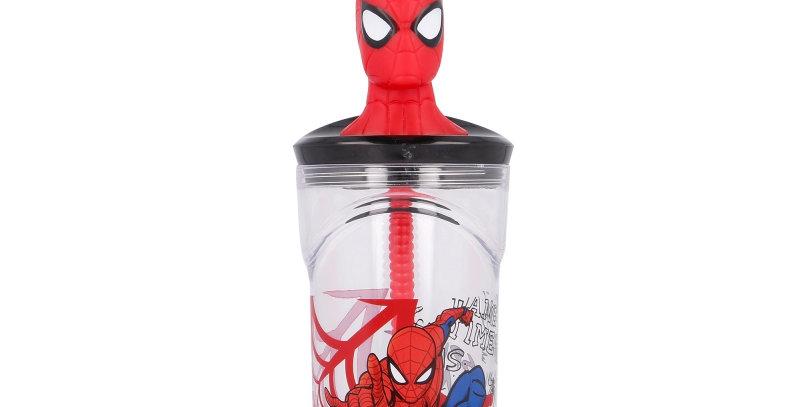 Spiderman Copo 3d 360ml