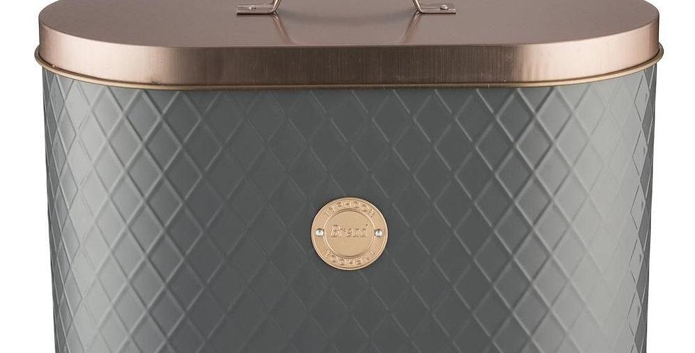 Caixa de Pão TYPHOON Copper Lid Cinzento