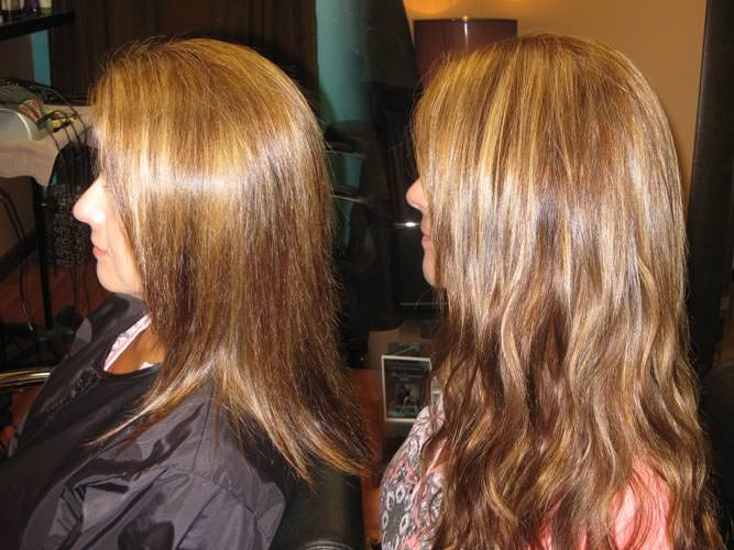 Hair Extensions Before And Afterextensions Of Yourself San Antonio