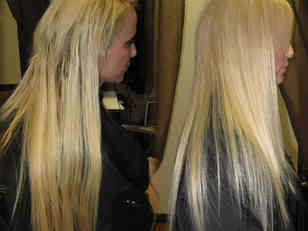 Blonde-old-extensions-after-removal-new-set