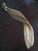 Virgin blonde Slavic hair extensions