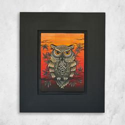 Огнена сова