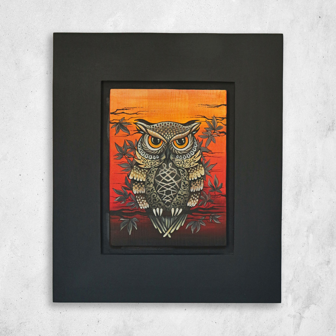Fiery owl