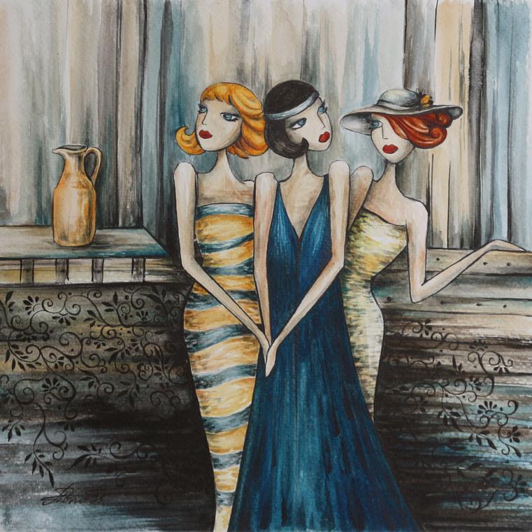 Трите дами