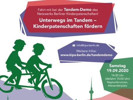 Radeln im Tandem - Kinderpatenschaften fördern