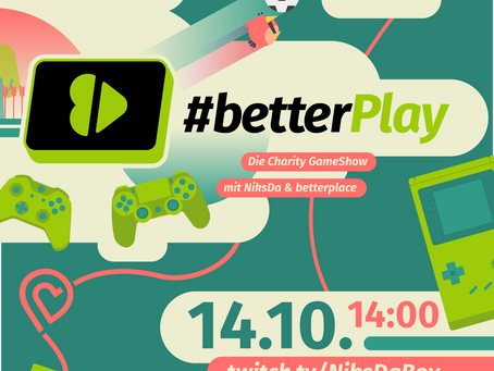 #betterPlay Charity Game Show