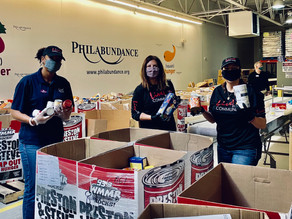 Live! Casino & Hotel Philadelphia donated $15,000 to Philabundance for Hunger Relief
