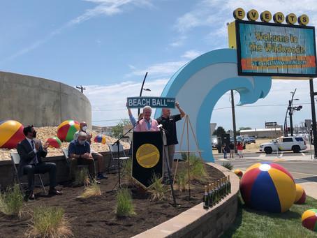 The City of Wildwood, NJ Renames Rio Grande Avenue 'Beach Ball Boulevard'