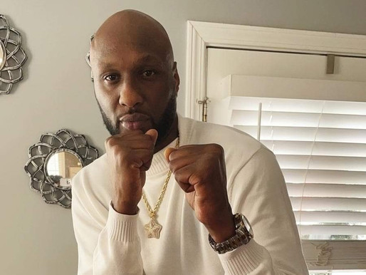 NBA Star & Khloe Kardashian's Ex Lamar Odom Signs Deal with Celebrity Boxing at Showboat A.C.