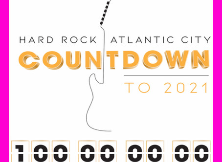 Hard Rock Atlantic City Gives Weekly Prizes to Celebrate 100-Days to 2021
