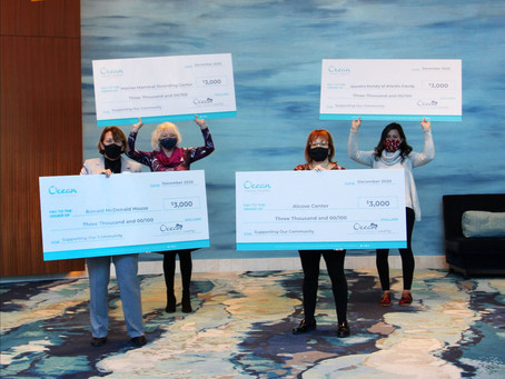 Ocean Casino Resort in Atlantic City Donates $12,000 to Local Charities