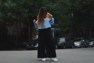 big sleeves, bigger pants