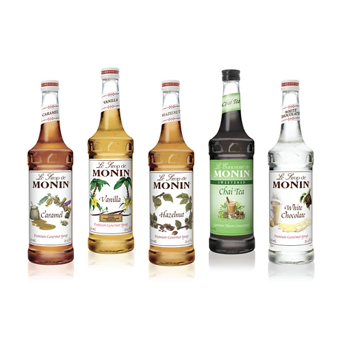 Monin - Premium Syrups (750ml)