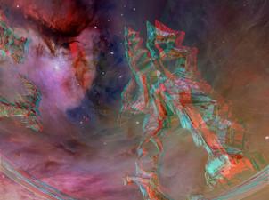 Biomorphic Sculpture Near Orion