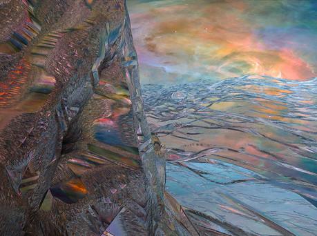 Greeting Approaching Nebular Waves