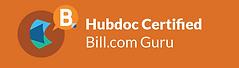 HubDoc Certification-Bill.com