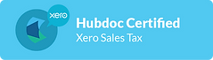 HubDoc Xero Sales Tax Certified