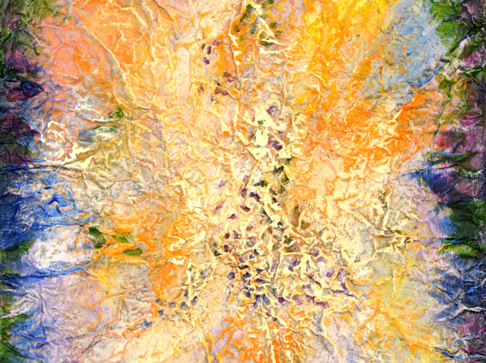 Orange Burst, 16_x20_