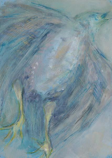 Blue Bird #3 Ascending