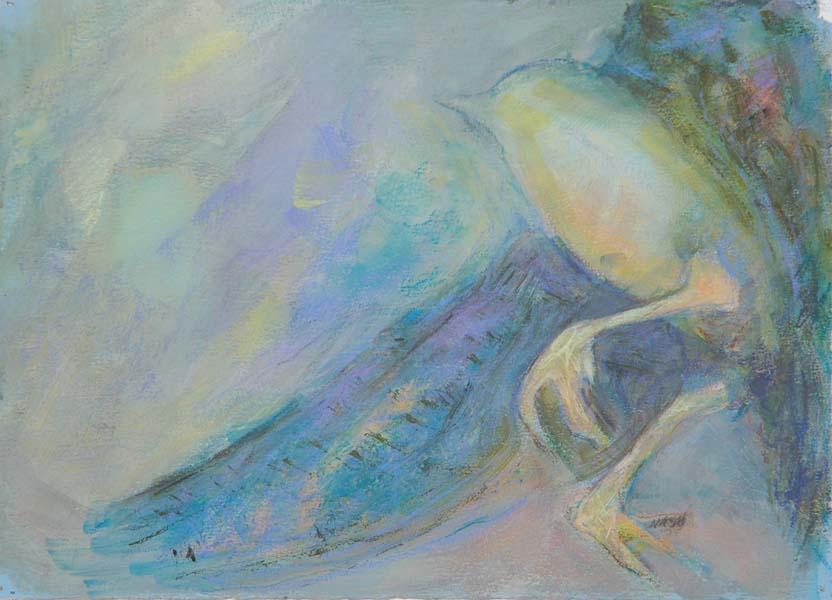 Blue Bird #2 Struggling