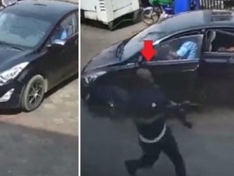 Video shows the moment armed robbers stormed Zenith bank Owerri Read