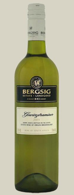 bergsig gewurtzraminer 2011 - screwcap - 15.11.11