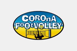 CoronaFootVolleyLogo