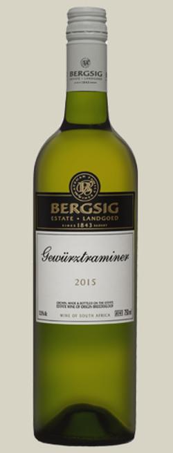 Bergsig Gewurztraminer 2015