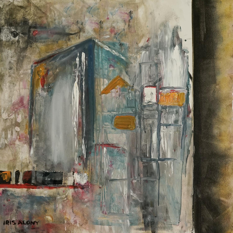 Iris Alony 60x80cm