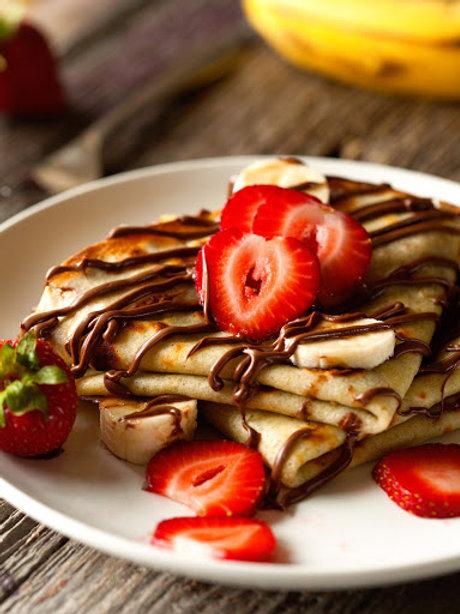Nutella & Strawberry