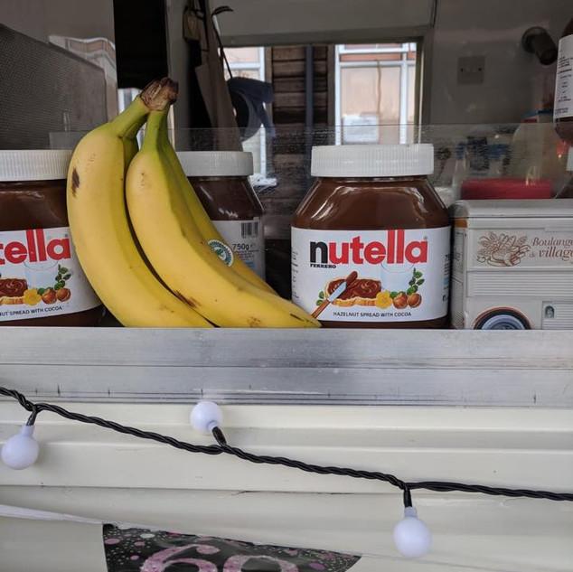 Nutella and Banana!