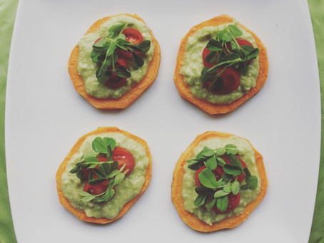 Sweet Potato & Avocado Bites