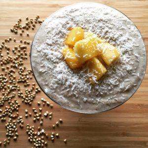 Banana-Lucuma Buckwheat Porridge