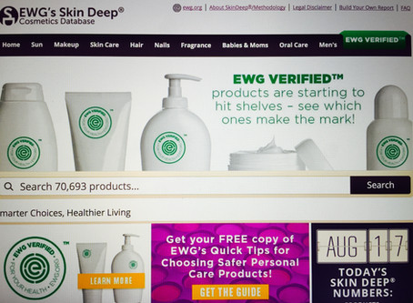 "The ""Skin Deep Cosmetics Database"""
