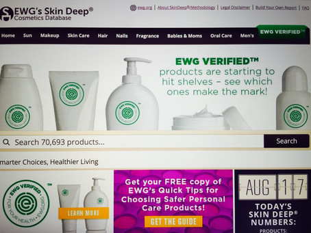 "The ""Skin Deep Cosmetics Database"""