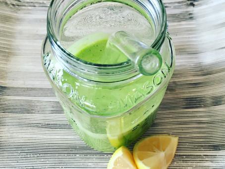 Morning Detox Lemonade