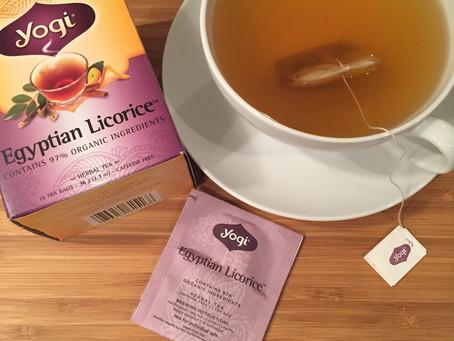 My Latest Tea Obsession:  Licorice Root Tea!