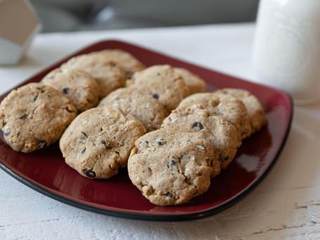 Cassava Walnut Chocolate Chip Cookies