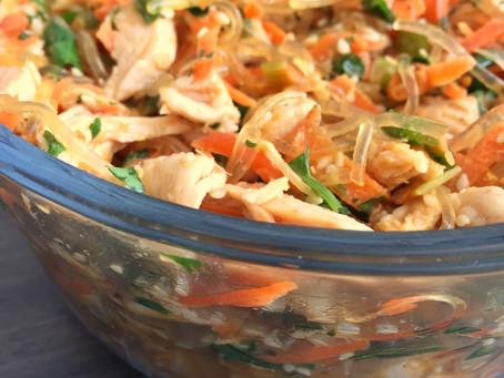 Kelp Noodle Bowl w/ Ginger Dressing