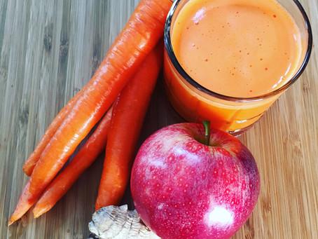 Carrot Apple Ginger Zinger!